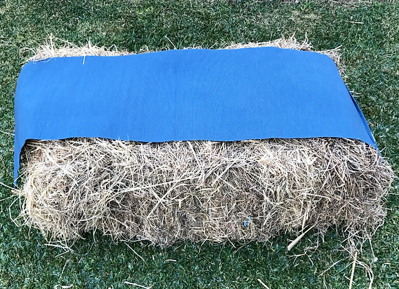 Hay Bale Cover/ Table Runner - Blue
