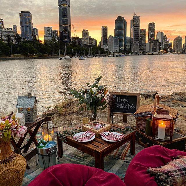 3 Course Romantic Picnic Brisbane