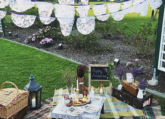 Gift Certificate - Luxury picnic for two with mini grazer