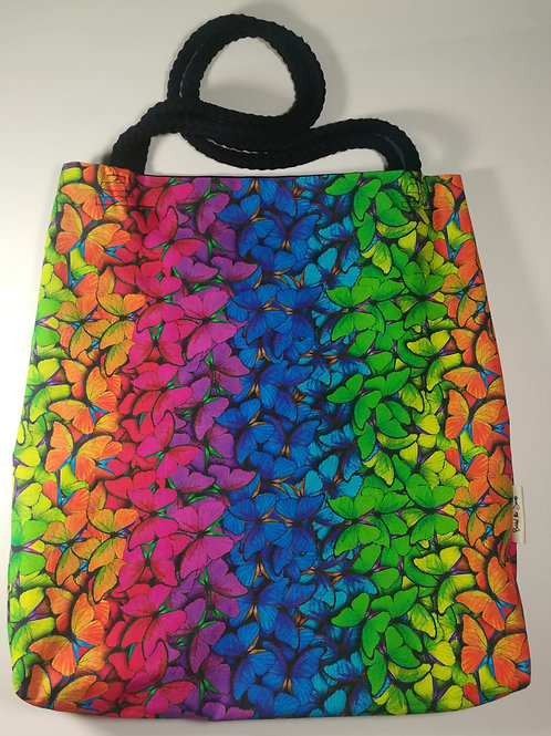 BUTTERFLY Reversible Tote - 100% Cotton