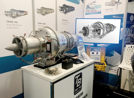 Jet Engine Renders on Exhibition