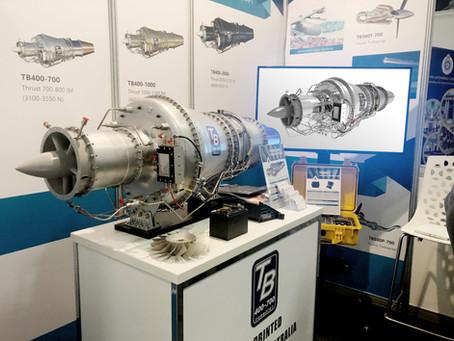 Jet Engine Renders on Exhibition