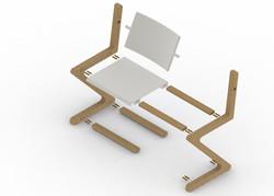chair EXPLODE