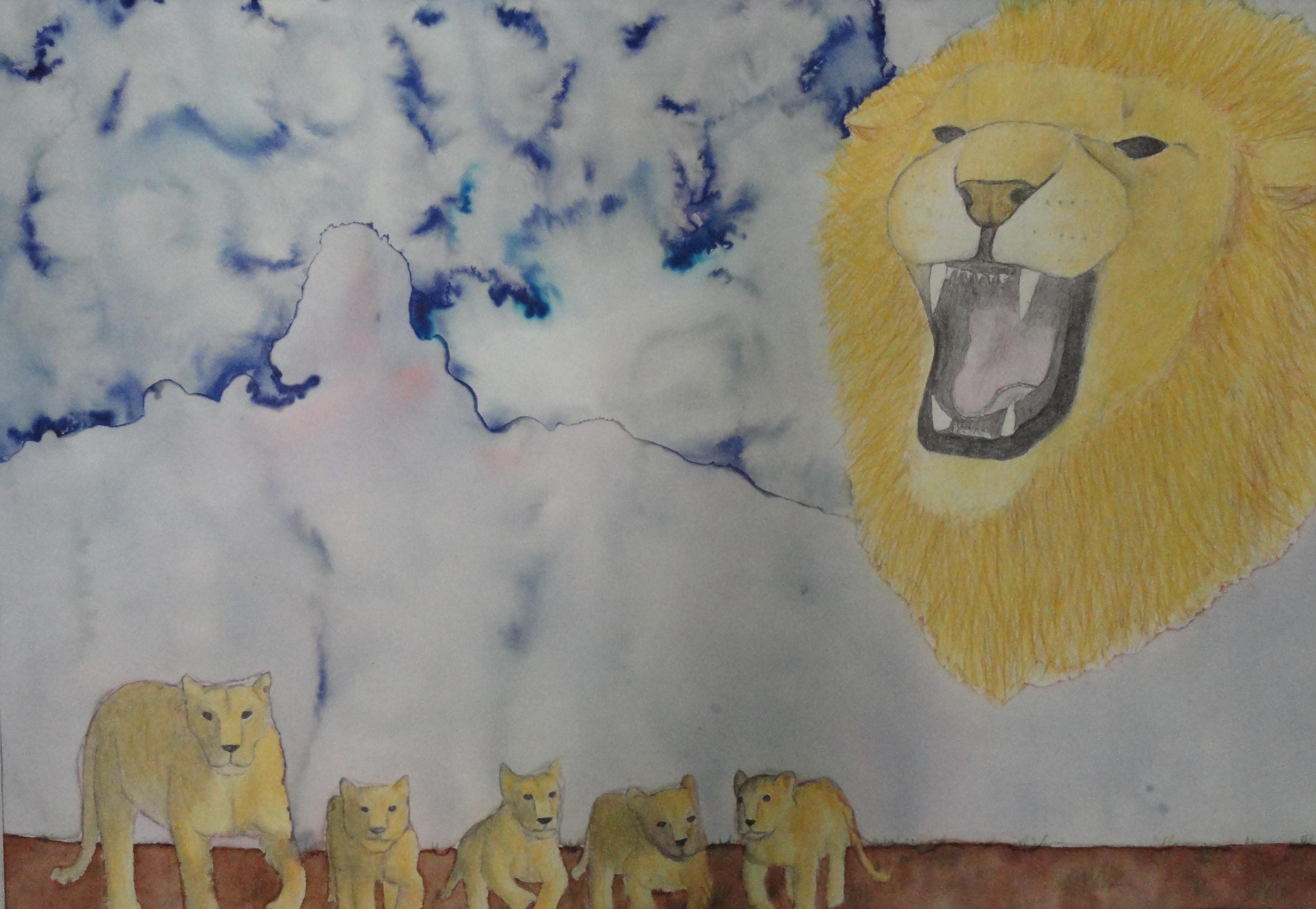 lion sky