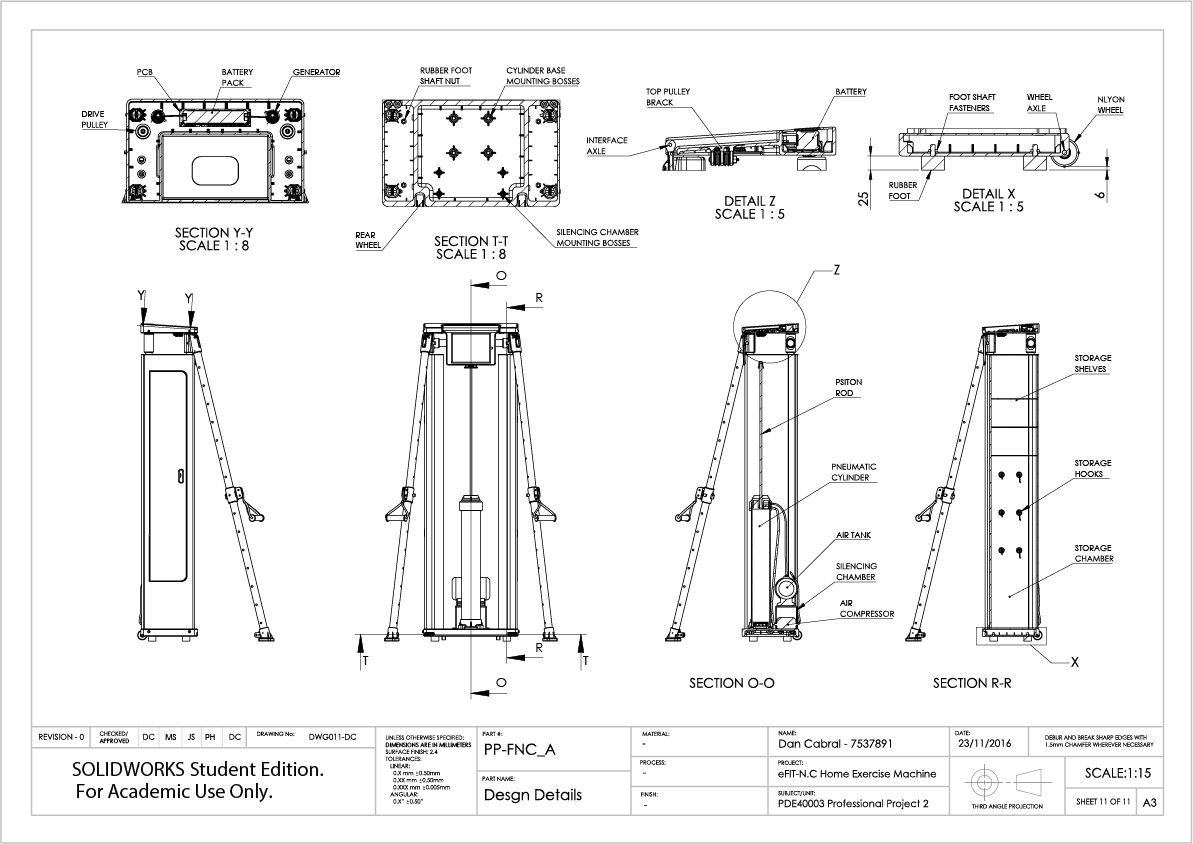 11. eFIT-N.C Engineering Documentation - Technical Drawings