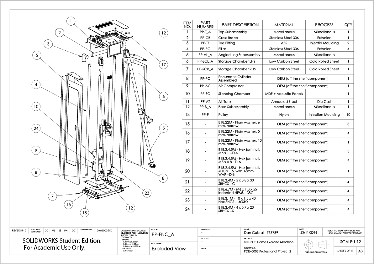 2. eFIT-N.C Engineering Documentation - Technical Drawings