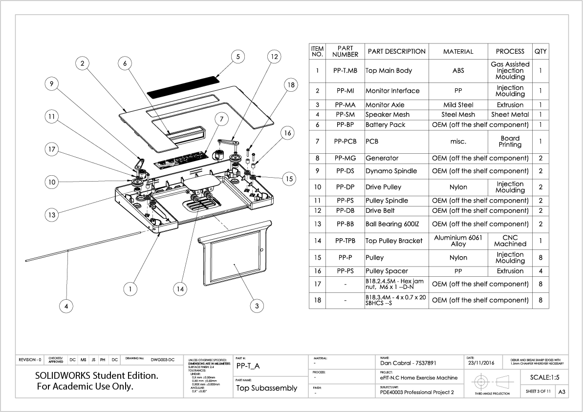 3. eFIT-N.C Engineering Documentation - Technical Drawings