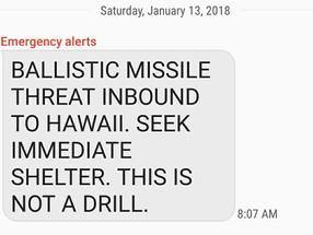 Ballistic Missile Attack