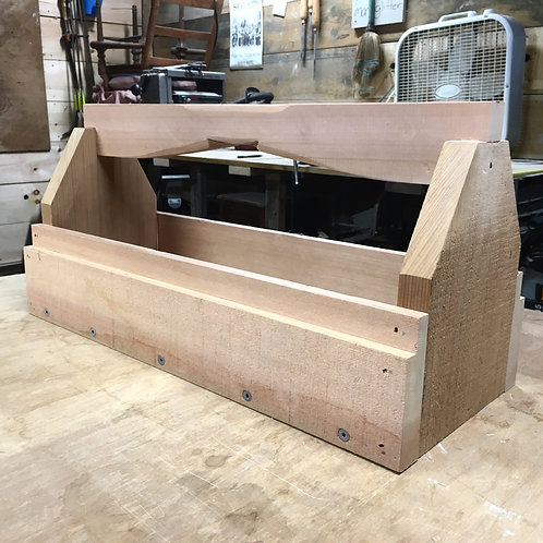 Western Red Cedar Toolbox Planter