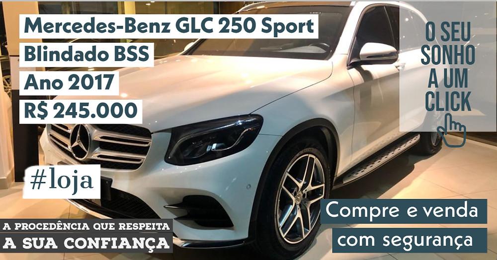 A #LOJA PUBLIRACING - Mercedes-Benz GLC 250 Sport Blindado