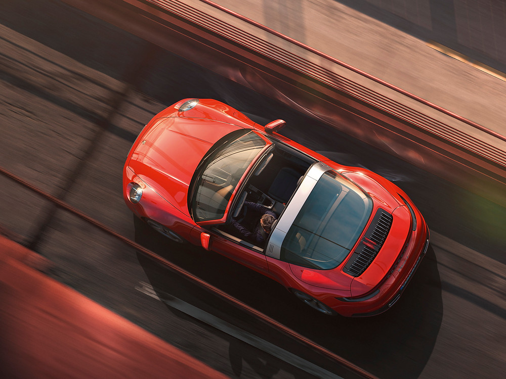 Novo Porsche 911 Targa chega para o mercado europeu em duas versões