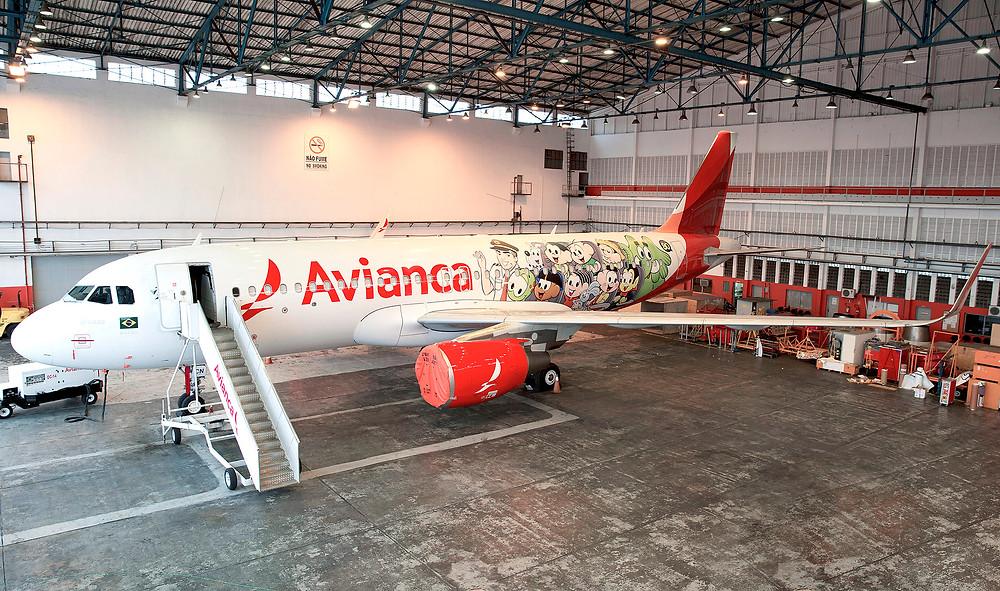 """Avianca lança avião """"Turma da Mônica"""" em comemoração aos 80 anos de Mauricio de Sousa"""