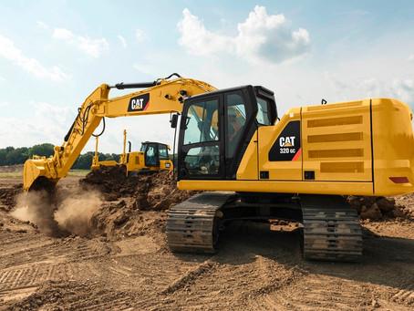 Na classe de 20 toneladas três escavadeiras hidráulicas Cat da nova geração se destacam pela eficiên