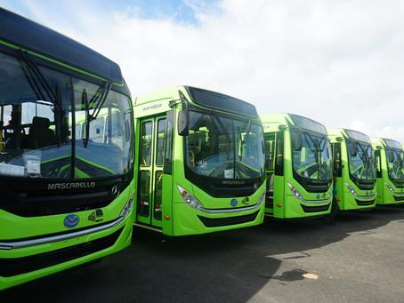 Mercedes-Benz entrega 130 ônibus urbanos para a República Dominicana