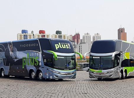 Viação Garcia-Brasil Sul renova frota com nova configuração de ônibus