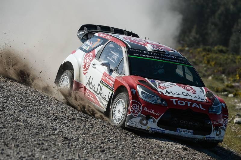 WRC: Dia de sonho para Citroen e Meeke em Portugal