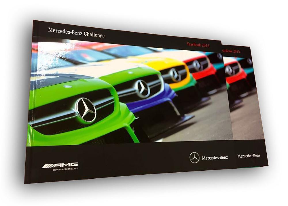 Chega a segunda edição do anuário do Mercedes-Benz Challenge