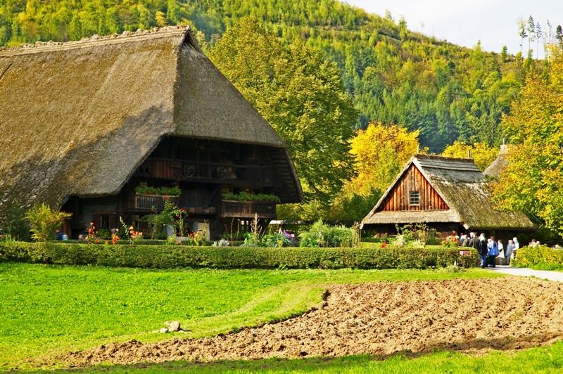 O Vogtsbauernhof foi criado para preservar as várias expressões da cultura regional.
