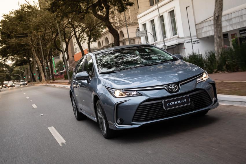 Toyota oferece blindagem para o novo Corolla 2020