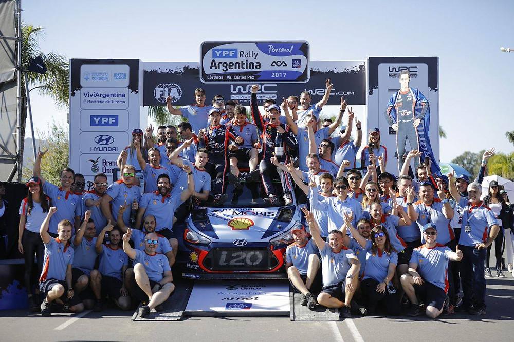 WRC: Thierry Neuville em Hyundai vence na Argentina e escreve mais uma emocionante história nos ralis