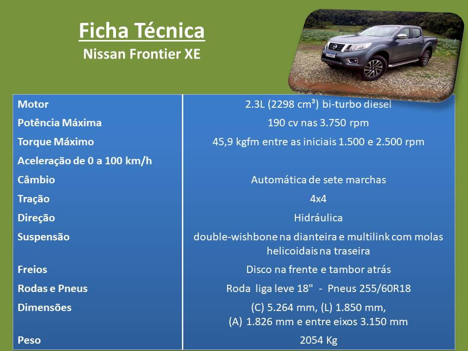 Avaliação: Nissan Frontier, uma das mais capacitadas e elegantes picapes do Brasil