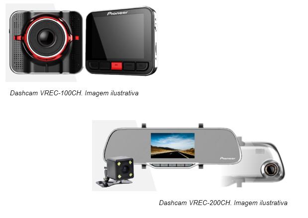Pioneer lança câmeras automotivas com múltiplas funcionalidades