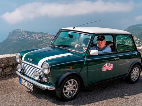 A vitória de Paddy Hopkirk no Monte Carlo de 1964 a bordo de um Mini Cooper S