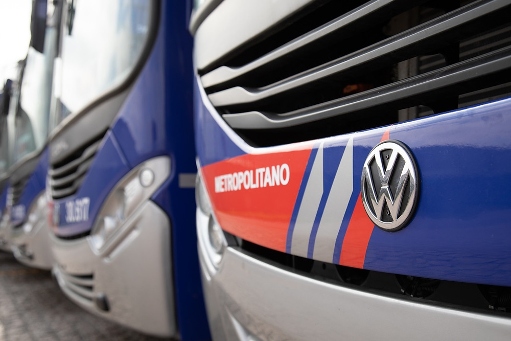 Volkswagen vende 330 ônibus e cresce 22% no mercado paulista