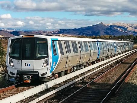 Em São Francisco entram em serviço os novos trens da Bombardier