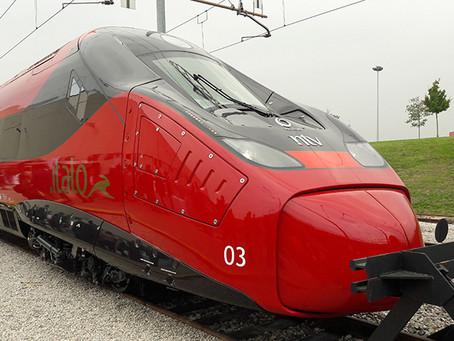 Apresentados o novos trens de alta velocidade da italiana NTV