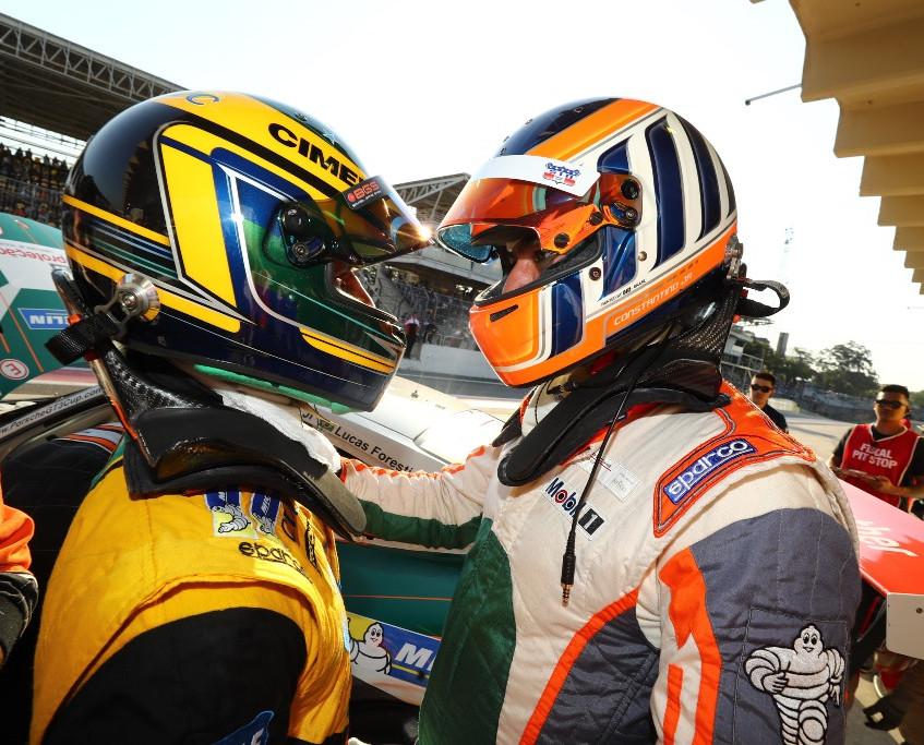 Lucas Foresti e Constantino Jr