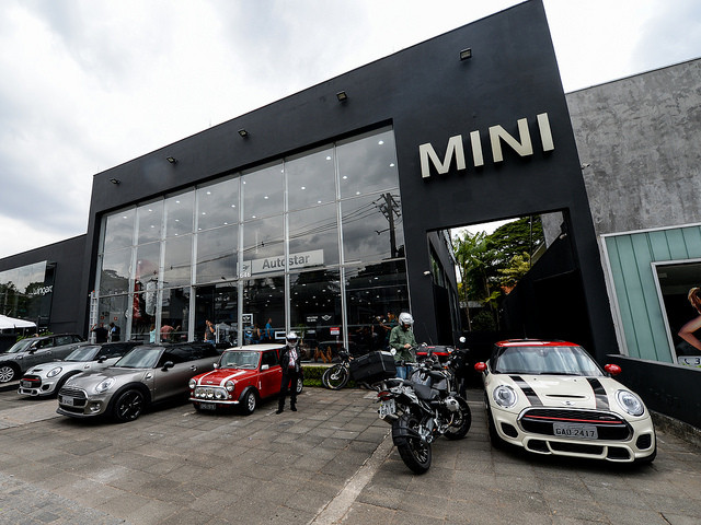 Mini inaugurou nova concessionária na região dos Jardins, em São Paulo