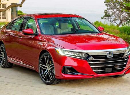 Expressas: Honda Accord 2021 hibrido chega com atualizações estéticas