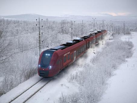 Ferrovia: CAF fornecerá 28 trens regionais para a Suécia