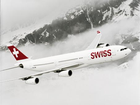 No próximo dia 28 de novembro, SWISS passa a oferecer dez voos por semana entre o Brasil e a Europa
