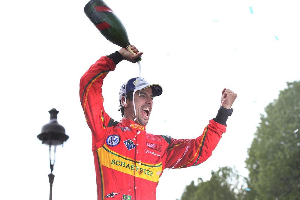 Domínio de Lucas di Grassi na festa da Fórmula E em Paris