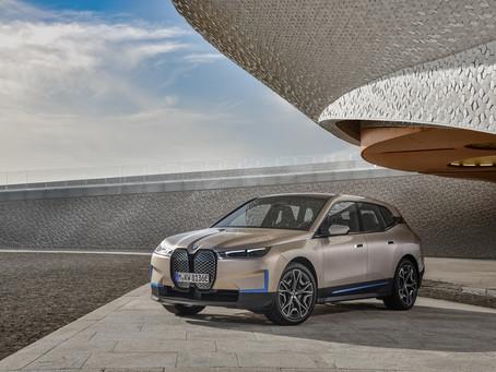 BMW apresenta o iX, primeiro SUV 100% elétrico da marca