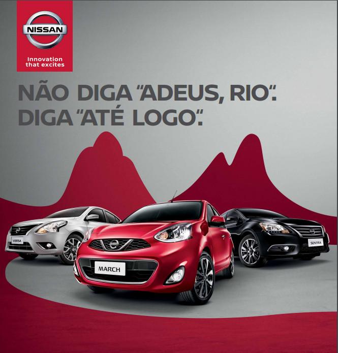 Nissan reforça marketing nos aeroportos do Brasil