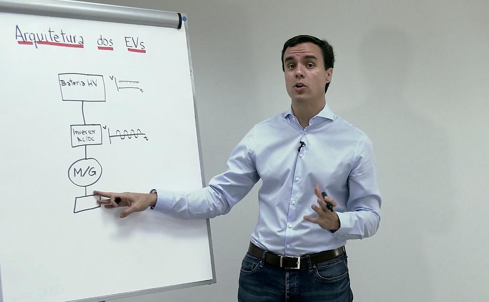 Especialista em veículos híbridos e elétricos, André Maranhão disponibiliza completos cursos online