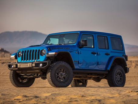Vídeo: Novo Jeep Wrangler Rubicon 392, poderoso 4x4 com motor V8 de 470 cv