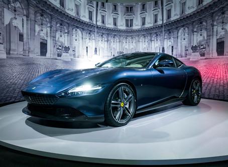 Expressas: Ferrari lança o coupé Roma