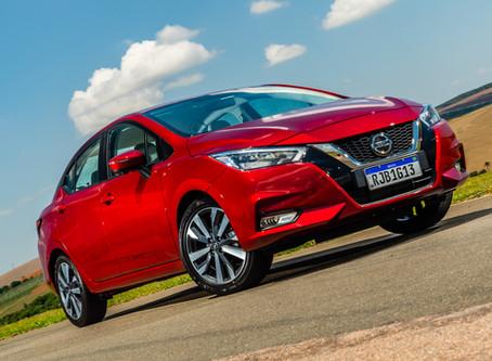 Novo Nissan Versa chega completamente renovado e motorização única 1.6