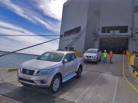 Nissan inicia operação de importação através do Porto de Suape, em Pernambuco