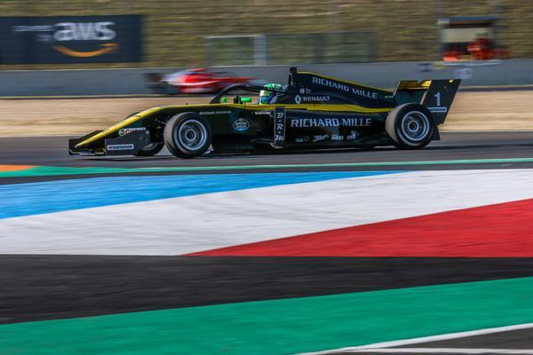 F-Renault Eurocup: Após vitória no sábado, Collet é segundo no domingo em Magny-Cours