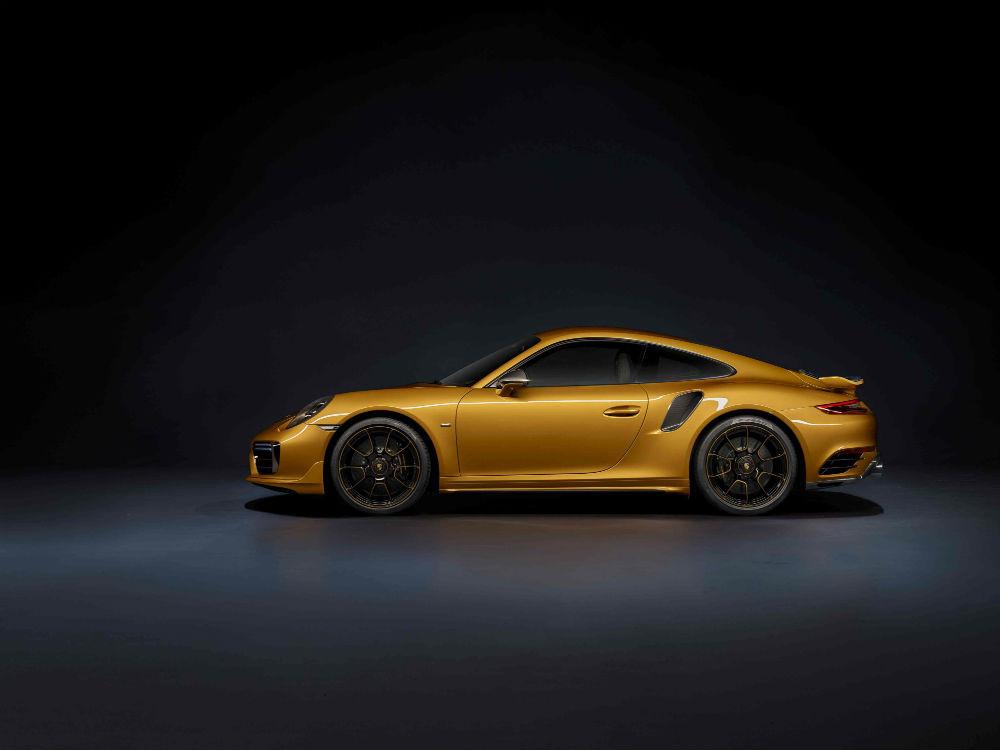 Novo 911 Turbo S Exclusive Series, ainda mais potente e exclusivo