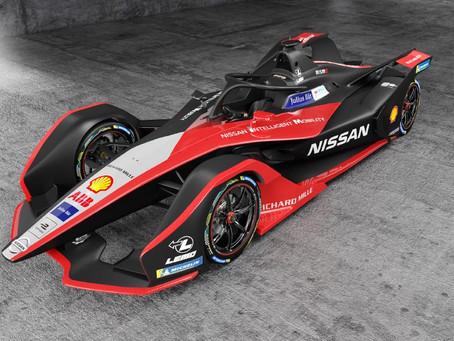 Carro de Fórmula E da Nissan ganha novo visual inspirado em quimono