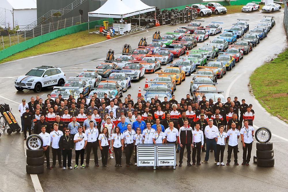 Porsche GT3 Cup com três corridas na programação do GP Brasil de F1