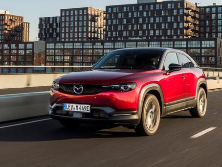 Expressas: Chega aos EUA o Mazda MX-30 elétrico
