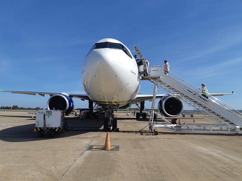 Aviação: Segundo voo da Azul Cargo chega da China com 1,6 milhão de testes rápidos