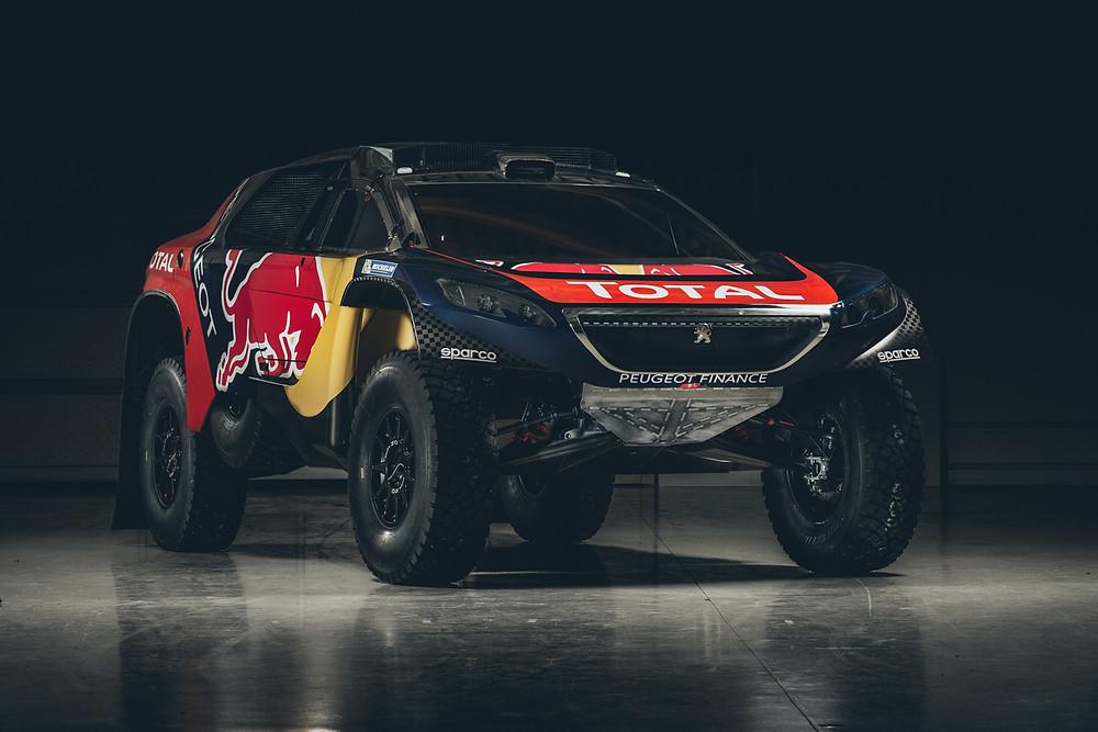 Team Peugeot Total apresentou sua decoração para o Dakar 2016